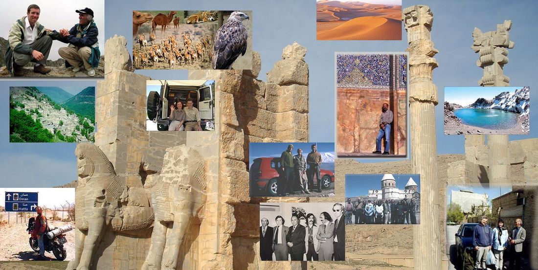 tourist guide (tour guide) Iran experiences